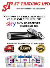 NEW SKY PLUS + HD BOX - 500GB - SKY DRX890 ON DEMAND