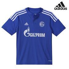 adidas FC Schalke 04 Trikot Home 2014/2015 Kinder Blau-weiß 164