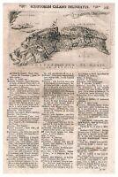 1715 - TREMITI - UniversUs terrarum orbis - FORTEZZA DI S. MARIA