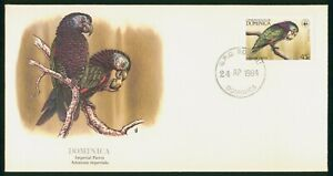 Mayfairstamps Dominica FDC 1984 Imperial Parrot First Day Cover wwp_65333