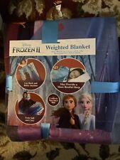 Frozen 2 Weighted Blanket 4.5lb 36 x 48 Walking to Winter Elsa Anna Disney