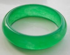Classic Charming Green Agate Onyx Gemstones Stone Bracelet Bangle BRACE-7