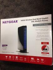 Netgear DGND3700-100NAS N600 Wireless Dual Band Gigabit ADSL2+ Modem/Router V2