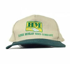 Harris Moran Seed Company Embroidered Baseball Cap Hat Snapback Men's Size