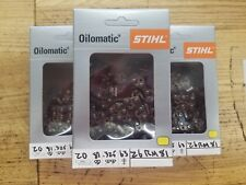 3 Pack,20 inch,Stihl,Oilomatic,chainsaw, chain,MS270,MS271,MS290,MS291,26 RM 81