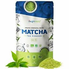Organic Matcha Green Tea Powder - 100g - Ceremonial Grade Pure Japanese Matcha
