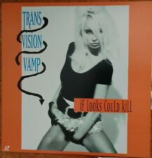 TRANS VISION VAMP Laserdisc If Looks Could Kill Music Video JAPAN LD Wendy James