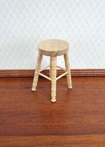Details about  /1:12 Dollhouse Miniature Wooden Stool Long Chair Model Furniture AccessoriJB