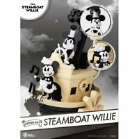 Beast Kingdom Disney D-STAGE MICKEY STEAMBOAT WILLIE DIORAMA 16CM DS-017 figure