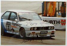Altfrid Heger - orig. Autogramm auf Foto, BMW M3 E30 DTM 1990
