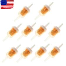 10pcs 1/4'' Fuel Filter Set For Briggs & Stratton 493629 691035 5065 5065D 5065K