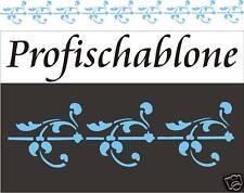 Schablone, Malerschablone, Wanddekor, Wandschablone, Stencils, horizontale Ranke