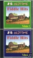 25 Oldtime Fiddle Hits Volume 1 & 2  RARE Original Canadian 2 CD Set (Brand New)
