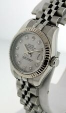 Rolex Oyster Perpetual Datejust with Diamond Dial $9,200.00 ladies watch.