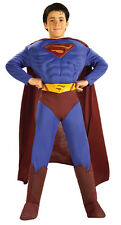 NWT Superman Returns Deluxe Muscle Chest Costume Child Large 12-14 Dress Up