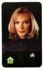 télécartes Anglaise Star trek The next generation DR Beverly CRUSHER
