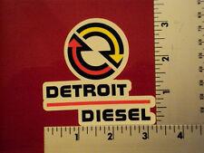 Detroit Diesel sticker decal small NHRA IMCA USRA NTPA