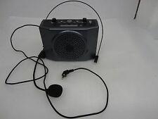 WAP Portable Waistband Voice Booster Mini PA Amplifier Loudspeaker USB & FM RAD