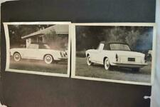 Vintage Photos 1961 Fiat 1500 Spider Sports Car 942008