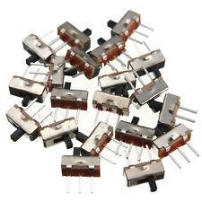 20PCS SS12D00G3 2 Position SPDT 1P2T 3Pin PCB Panel Mini Vertical Slide Switch