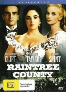 Raintree County DVD Elizabeth Taylor New and Sealed Australia