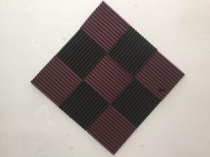 New match Sound absorbing tiles acoustic foam pannel Wedge 12T 9pcs