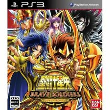 Used PS3 Knights of the Zodiac Saint Seiya-Brave Soldiers Limited Japan