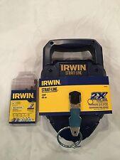 Irwin Strait-Line 150' #2031311 & 1 Irwin 5 Piece Bit Set
