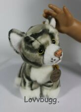 """Gray Tabby Cat Perfect Pet for 18"""" American Girl Doll! Widest Selection! Found"""