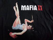 $$$$$Mafia II 2 promozionale T-Shirt Taglia Large Nuovo $$$$$