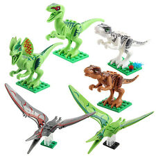 DIY Dinosaur Children Building Blocks Educational Toys Bricks Kids Birthday Gift