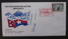 Nepal Youth Mt.Everest Expedition signed by members 1997 (5026)