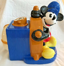 Disney Steamboat Willie Cookie Jar Treasures Craft 1997 Mickey Mouse Limited Ed