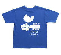 kids woodstock t-shirt 2 4 6 8 10 kids t-shirt youth tee shirt peace and music