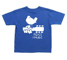 kids woodstock t-shirt 2 4 6 8 10 kids t-shirt youth tee shirt peace and music