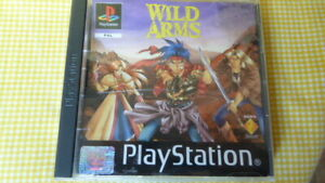 PS1 Wild Arms Sony PlayStation Game