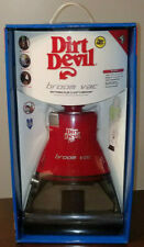 RED DIRT DEVIL BROOM VAC BV2030 BRAND NEW IN BOX DIRTDEVIL HTF SEALED