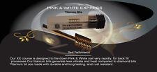 Titanium Drill bit 2x (Pink & white Express) 3/32. large barrel Buy 5 get 1 Free