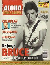 MAGAZINE ALOHA 2005 nr. 04 - BRUCE SPRINGSTEEN/NENA/COLDPLAY/STYX/THE SHADOWS