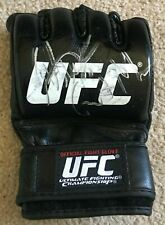 UFC MMA Anthony Pettis Gilbert Melendez dual autographed signed UFC glove