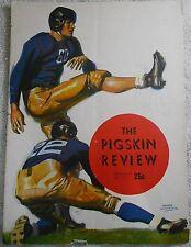 1944 USC vs Washington Football Program - The Pigskin Review