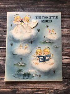 Vintage Hallmark The Two Little Angels  Advent Calendar Christmas Paper