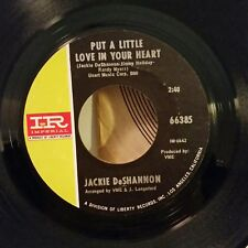 Jackie DeShannon Imperial 66385  PUT A LITTLE LOVE IN YOUR HEART  45 SHIPS FREE
