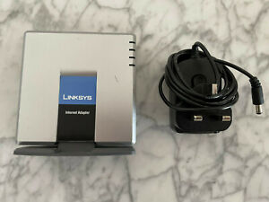 Linksys Cisco PAP2T Phone Adapter 2 Ports Voice Over IP
