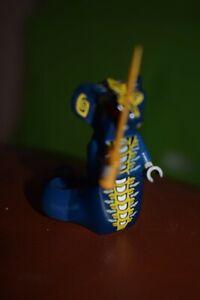 Lego Ninjago Skales Snake/Viper Minifigure With Sword Used No Damage Loose