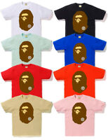 2019 A/W A BATHING APE Men's BIG APE HEAD TEE 8colors Japan New