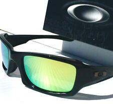 NEW* Oakley FIVES Squared BLACK w POLARIZED FIRE & Grey Lens Sunglass 9238-04