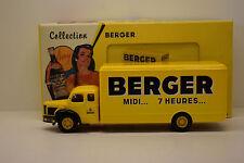 BERLIET GLR FOURGON BERGER CORGI HÉRITAGE NEUF BOITE 1/50 COLLECTION BERGER