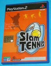 Slam Tennis - Sony Playstation 2 PS2 - PAL