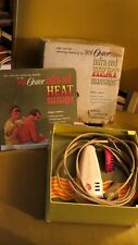 Vintage Oster Infra-Red Heat Massager w/ Original Box and Paperwork Model 214-01